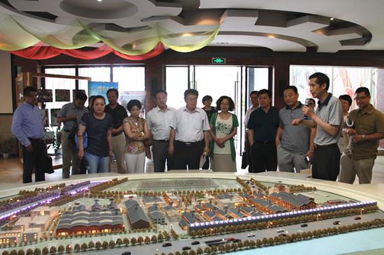 南京邦盟电子科技_盟市委两会人员视察南京国创园