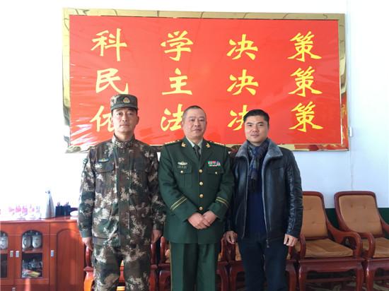 援藏盟员汤杰律师为日喀则武警部队全面停止有偿服务