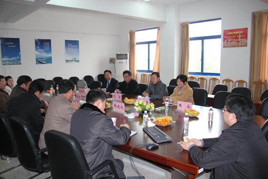 民盟江苏海事学院支部与民盟南京审计学院盟员进行